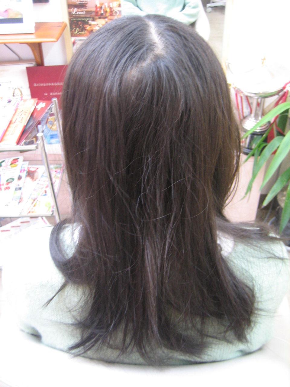 細い髪の毛の縮毛矯正