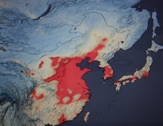 大気汚染NASA