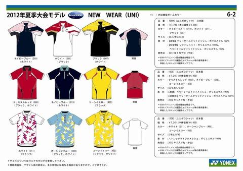 2012年夏季大会モデル(ユニ2)