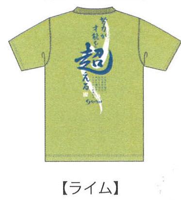 ソフテニTシャツ 2013 A ライム