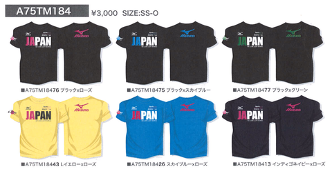 ミズノ ジャパン 応援グッズ TシャツB