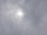曇天の中・・見た皆既日食。