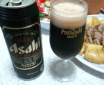 黒ビールで乾杯!