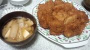 トンカツ&味噌汁