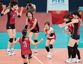 日本女子バレー銅メダル!