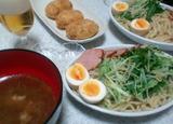 つけ麺&コロッケ