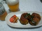 豚肉ハンバーグ(カレーソース)