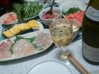 手巻き寿司&Chablis