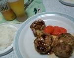 豚肉ハーブハンバーグ