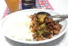 豚肉と大根とブロッコリーのオイスターソース煮