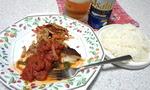 鱈のトマトソース