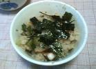 蛸とわけぎの炊き込みご飯