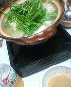 水菜たっぷりの豚しゃぶ