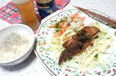 鮭の香味醤油