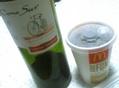 ワインの後のマクドアイスコーヒー