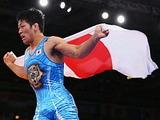 金メダルの米満達弘選手