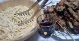 釜玉&ワイン&焼き鳥