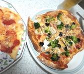 手作りピザで!