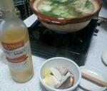 鯛と肉団子鍋