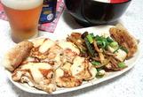 鶏のチーズマスタードケチャップ焼き