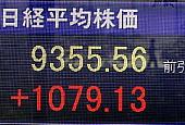 株価急上昇