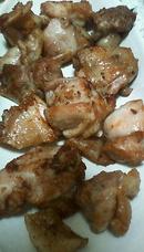 若鶏のニンニク炒め