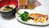 鮭のムニエル レモンバターソース