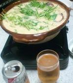 チーズ入り酒粕鍋