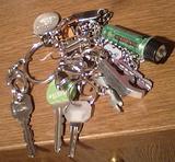 落とした鍵はどれでしょう?