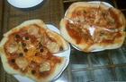 田舎でも自家製ピザ