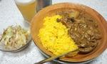 豚肉とジャガイモのカレーミルク煮