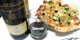 シラーワインとピザ