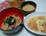 さんまの蒲焼き缶詰de簡単炊き込みご飯