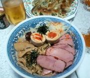 油そば&餃子&ビール