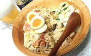 カニかまとモヤシの天津丼