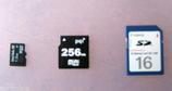 SDカード群