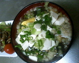 豆腐入り鯛茶