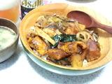 鰤照り野菜丼