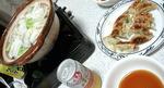 餃子とニュークリアアサヒ