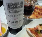 ボルドーワインで