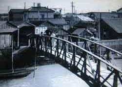 成瀬『稲妻』で高峰秀子が渡る橋