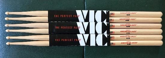 VIC FIRTH American Jazz AJ6を購入1
