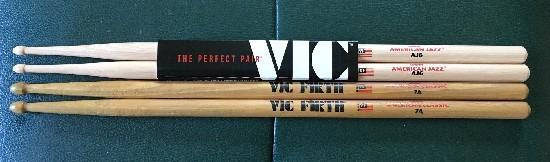 VIC FIRTH American Jazz AJ6を購入2
