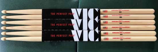 VIC FIRTH American Classic 8Dを購入