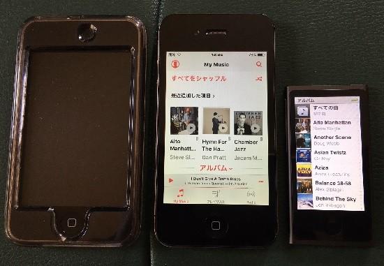 カーナビ+iPod nano3