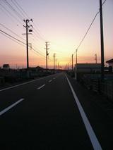 夕日にむかってはしる〜