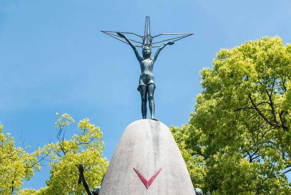 Hiroshima-Peace-Memorial-Park-Statue-of-Sadako