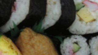 サラダ巻き入り助六寿司