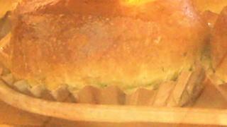 友人手作りのパン