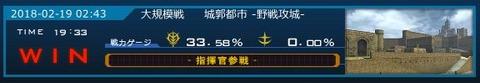 ガンオン 初指揮参戦